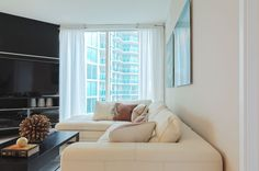 Take the perfect vacation at this designer decorated turn-key unit. Cross Collins and you are in Sunny Isles Beach. Amenities include: 24hr concierge, gym, spa, sauna, and massage room. Short-term seasonal rental for a minimum of 3 months. Pets allowed w/ $250 non-refundable fee. Will also rent annually.
