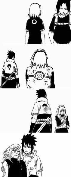 THAT CHAPTER! Yesss finally we get to see sasuke care about sakura again. Otherwise there would be no team 7