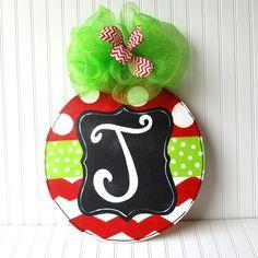 Ornament Door Hanger, Christmas Decor, Christmas Door Hanger, Holiday Decor on Etsy, $45.00