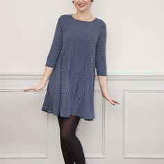 Sew Over It   Nancy Dress Swing Dress Sewing Pattern: Sew Over It Online Fabric Shop