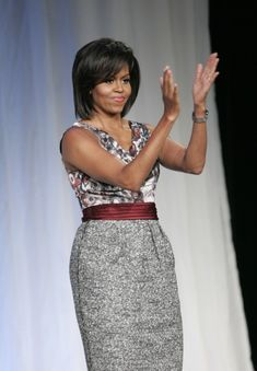 Some day, when I grow up, I hope to be as fashionable as Mrs. O.