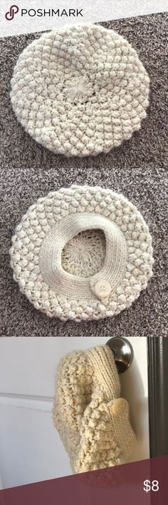Zara knitted beret hat. Extremely soft and warm beret hat. I cut the tags because they were annoying. Zara Accessories Hats