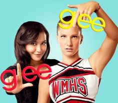 My Two Favorites from Glee Santana and Brittany
