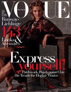 Constance Jablonski by Giampaolo Sgura for Vogue Germany August 2015