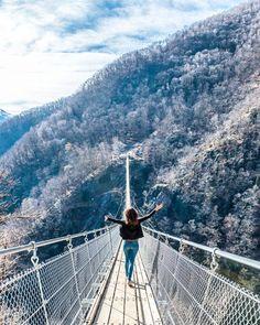 Curzut Carasc Switzerland Tibetian Bridge in Ticino Reisen In Europa, Culture Travel, Travel Around, Switzerland, Places To See, Beautiful Places, Around The Worlds, Hiking, Europe