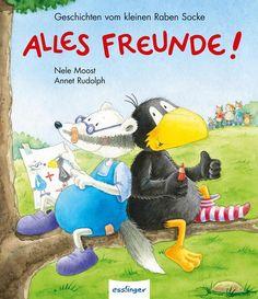 Kleiner Rabe Socke: Alles Freunde!, Geschichten vom kleinen Raben Socke als Buch