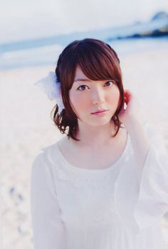 Japanese Beauty, Japanese Girl, Kana Hanazawa, The Voice, Singer, Hairstyle, Asian, Actresses, Lady