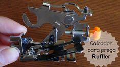 Como usar o calcador de fazer pregas (RUFFLER)