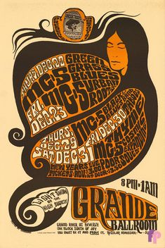 MC5 at Grande Ballroom 12/22-23 & 29-31/66 by Gary Grimshaw