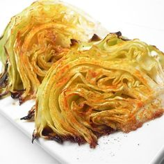 """Garlic Loves Roasted Cabbage I """"This was a nice touch to our corned beef. The flavor was good and it was nice to just put it in the oven and cook it. Loved the caramelized flavor it got."""""""