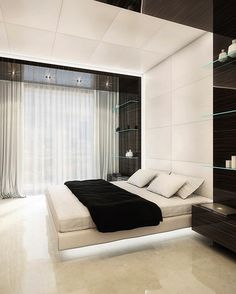 Interior .. Ultra modern bedroom