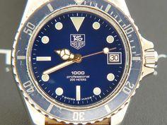 TAG Heuer 1000 Blue version 980.613N