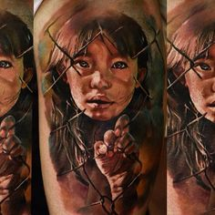 An emotional tattoo piece by Domantas Parvainis | Intenze ink