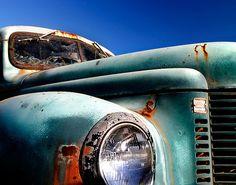Old Hood by Sara Heinrichs (awfulsara) on Flickr