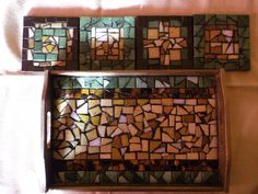 mosaic tray