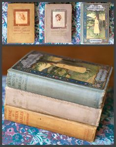 1915 Anne of Green Gables - Anne of Avonlea 1916 - Anne's House of Dreams 1917 - Amazing Vintage Book Collection I Love Books, Good Books, My Books, This Book, Anne Of Avonlea, Anne Shirley, Book Collection, Book Nerd, Vintage Books