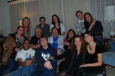 Deutschendorf family gathering, including Jesse Belle and Cassandra.