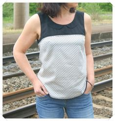 Datura Blouse with sleeves