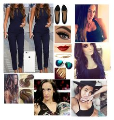 """""""Hanging out with Nikki Bella Brie Bella Paige and Aj Lee"""" by bvbambroseasylum ❤ liked on Polyvore featuring ASOS, Jeffree Star and Rebecca Minkoff"""