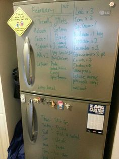 Fridge becomes less inscrutable. Cut down on wastage. 40% of food in the first world is wasted!
