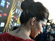 Has Deepika Finally Discarded Her Tattoo? http://www.ndtv.com/video/player/news/has-deepika-finally-discarded-her-tattoo/326441
