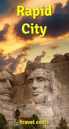 Travel costs for Rapid City Crazy Horse Memorial, Memorial Park, Places Around The World, Around The Worlds, Custer State Park, Rapid City, Plan Your Trip, South Dakota, Sd
