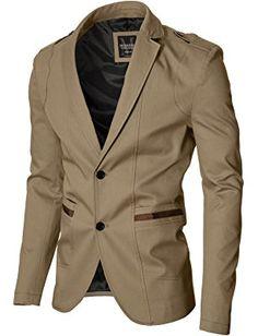 MODERNO - Slim Fit Sport Herren Sakko Blazer Jacke (MOD14518B) Blazer  Herren 1eb8418aac11d