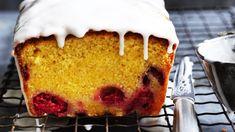 Helen Goh's lemon and raspberry loaf cake recipe Baking Recipes, Cake Recipes, Dessert Recipes, Desserts, Brunch Recipes, Island Cake, Lemon Drizzle Cake, Summer Cakes, Loaf Cake