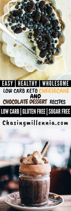 I've curated some of the best low carb dessert recipes that you are going to find. All recipes here are sugar free, gluten free & diabetic friendly. Ketogenic Desserts, Keto Friendly Desserts, Keto Snacks, Diabetic Friendly, Low Carb Sweets, Low Carb Desserts, Easy Desserts, Dessert Recipes, Sugar Free Cheesecake