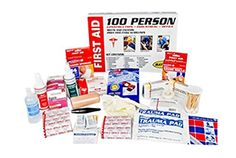 Mayday Emergency Survival 100 Person First Aid Cabinet ** To view further for this item, visit the image link.-It is an affiliate link to Amazon. #CampingSafetyandSurvivalEquipments