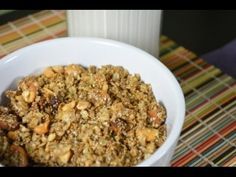 Granola recipe from The Up Beet Kitchen