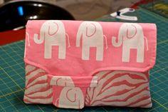 free pattern idea! love the elephant fabric