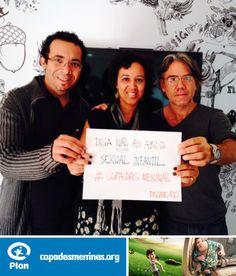 Tico, Valéria e Guido, da Nuts #CopaDasMeninas