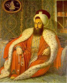 portrait of sultan mehmet 1800