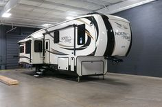 "LUXURY RV GREAT FOR FULL-TIMERS!!!  2017 Jayco North Point 315RLTS You'll love every great feature of this luxury RV, like a fantastic sleep system with a foam top residential mattress, big screen LED HDTV, walk-in closet, and island kitchen sink! Enjoy some shade with dual awnings! A 6-point leveling system makes setup easy! The 315RLTS is 38'8"" and weighs 11,740 lbs. Give our North Point expert Michael Coron a call 231-670-9025 for pricing and more information!"