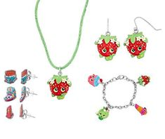The hottest gift for the holiday season ! Perfect gift for any girl ! Great for Christmas time, birthdays, etc. Shopkins Strawberry Kiss Pendant + Shopkins Strawberry Kiss Earring 2 Pc Set + Charm Bracelet + 3 Pc Stainless Steel Earring Set       Famous Words of... more details available at https://perfect-gifts.bestselleroutlets.com/gifts-for-holidays/toys-games/product-review-for-shopkins-strawberry-kiss-pendant-earring-2-pc-set-more/