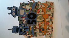 Birthday Card using Cricut Robotz Cartridge