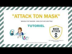 TUTORIEL VIDEO DU MASQUE FAIT MAISON ATTACK TON MASK - YouTube