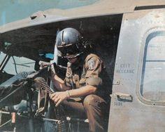 173rd Airborne door gunner - Vietnam War