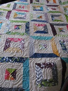 Quilt Story: Tube piecing. Fun technique... | Spin, Knit, Sew ... : tube quilt pattern - Adamdwight.com