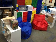 Here in the Waiting Place: My LEGO classroom! A virtual tour of my Lego themed class!
