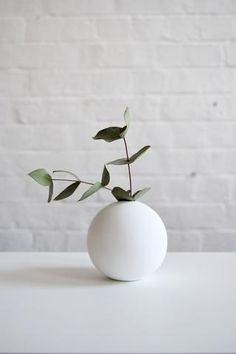 8cm White Vase by Cooee Designs  #cb2contest