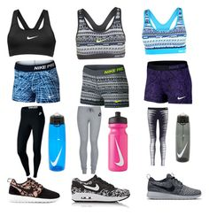 Which one are u by jennasurprenal on Polyvore featuring polyvore, beauty and NIKE