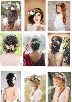 Les plus belles coiffures de mariée 2017 en photos
