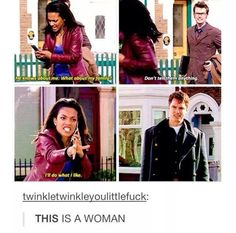 I LOVE Martha Jones and this is why. Look at her face. Fierce! <3
