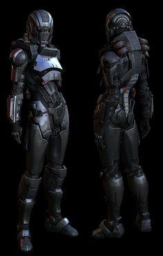 ZBrush Interview: Mass Effect 3 Fem Shepard: