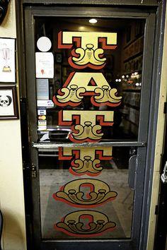 Propaganda San Diego Tattoo Shops tattoodoor - Copy by propagandatattoo Lion Tattoo, S Tattoo, Back Tattoo, Tattoo Names, Tattoo Maori, Snake Tattoo, Tattoo Small, Ink Tattoo Studio, Tattoo Studio Interior