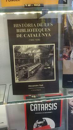 """""""Història de les biblioteques de Catalunya 1900-1936"""" d'Alexandre Galí. Comanegra"""