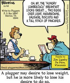 Pluggers Comic Strip, November 28, 2016     on GoComics.com