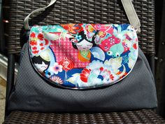 Klappentasche by sachsenblondies Welt, pattern by farbenmix.de #sewing #bag #tasche #nähen #taschenspieler2 #farbenmix